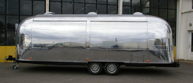 Remorque Street Food Airstream