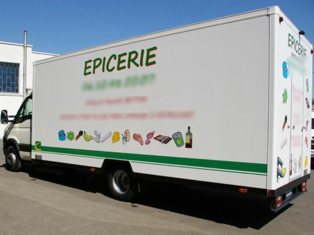 Ouverture D Un Camion Food Truck