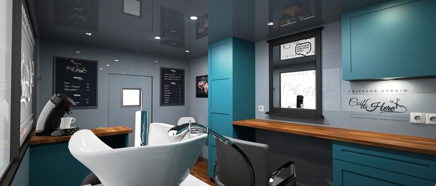 Charming grand miroir de salon 14 787 coiffure truck 6 bis for Salon miroir paris 14